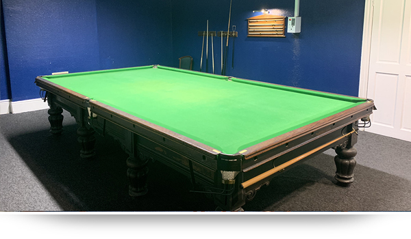 Snooker table for hire